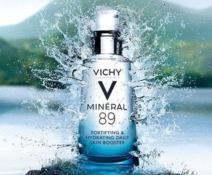 Vichy Minéral 89 – de booster voor je huid